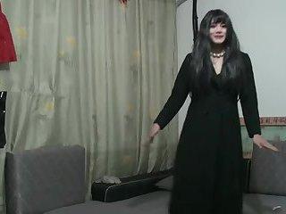 Chinese slut crossdresser