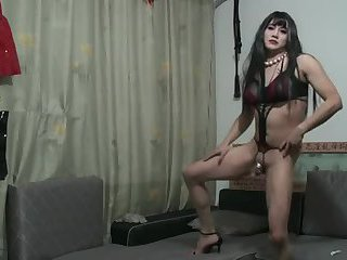 Chinese slut crossdresser