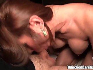 Sensual Ladyboy Swallows Fat Cock