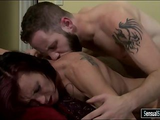 Mature shemale River Stark anal pounded