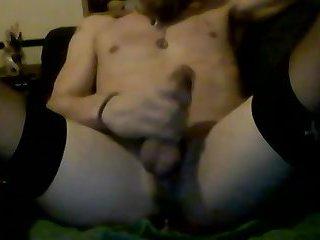 Me having fun with my pink dildo