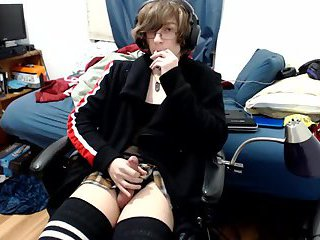 CD Masturbating on Cam