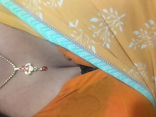 Indian Shemale in Saree2