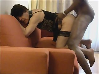 Lara getting fucked by fat cock