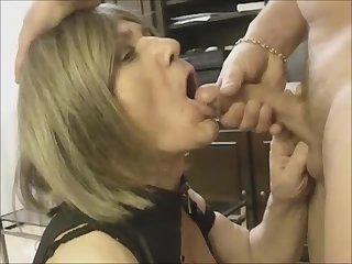 Lara cum to mouth fucking
