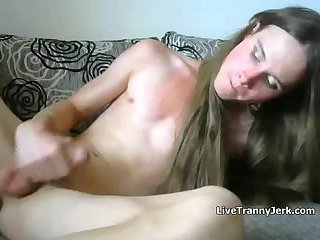 18 year old FemBoy cum