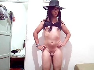 Sakura Nakamura Shemale- Masturbation Cum