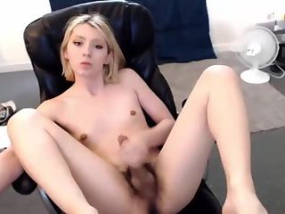 Hairy Teen TGirl Private Show