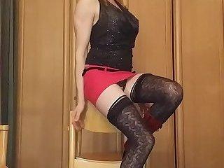Bitch posing