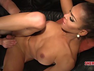 Shemale xxx Jenna Tales and Lance Rider Fuck Their Brains Out