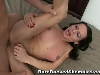 Fucking with Teenage Shemale Girlfriend