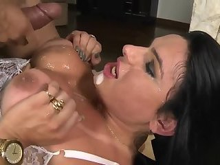 Mature and Busty Shemale Get Fuck Right