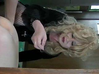 Horny shemale Fujiko hentai anal play2