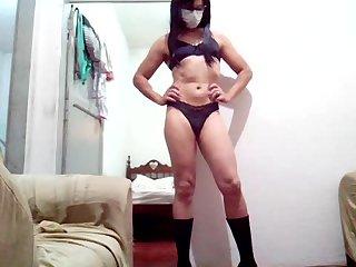 Shemale Sakura Nakamura  in Mask