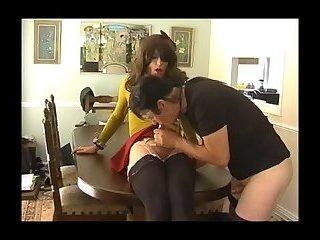 Preppy girl has fun with boyfriend (Lucy Robbins & Will Rok)
