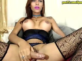 Huge dick latina tranny live sex