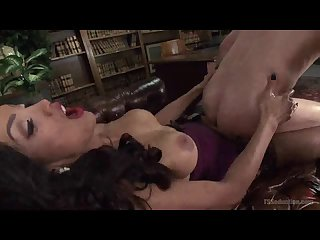 Tranny Domme Made Him Cum Like a Fountain