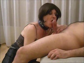 Lara sucking Arab male, ass to mouth, creampie...