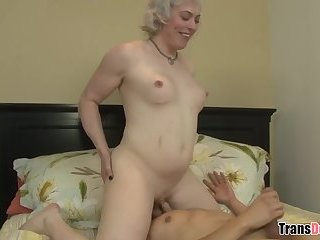 Eric Jover cheating on his wife with a blonde tranny