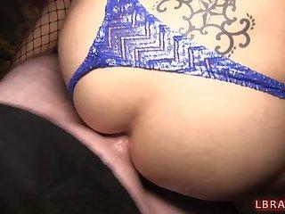 Ladyboy Ally Bareback Anal Sex
