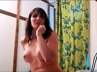 Sexy shemale mastrubate on cam