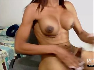 Big tits ebony Shemale cumshot webcam