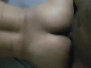 Fucking a Shemale Bareback