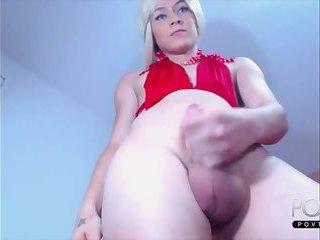Cute big balls tgirl online