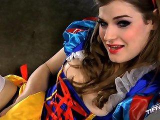 Tgirl in costume