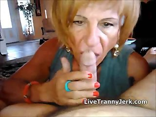Cock SUCKING lesson