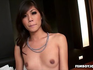 Uncut Thai Chaturbate broadcasterIn Stockings