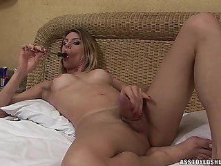 Ass toyed shemales-Bia