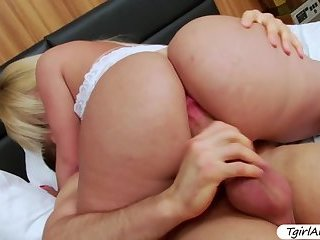 Big ass Tgirl Carol Penelope gets her ass fucked hard