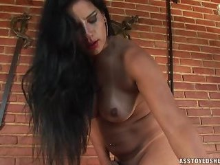 Ass toyed shemales-Aline Ganzarolli