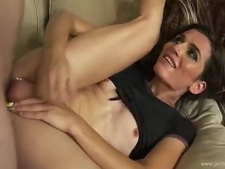 Skinny tranny on mutual fucks to boyfriend