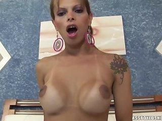 Ass toyed shemales-Rafaely Dubenstay 2