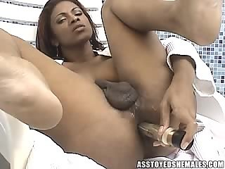 Ass toyed shemales-Andrea De Oliveira
