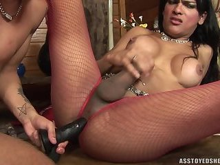 Ass toyed shemales-Jo Garcia 3