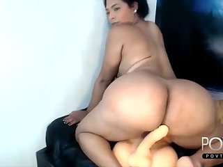 Amazing big ass latina tgirl