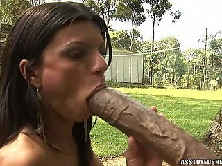 Ass toyed shemales-Aline Fontinelly