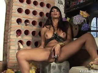 Ass toyed shemales-Marcella Italy 2