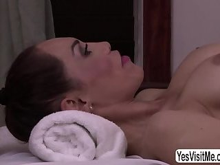 Teen lady-boy craves for orgasms