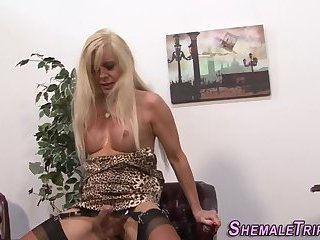 Tgirl sluts ass plowed
