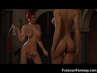 Futanari 3D Big Cock Dreams!