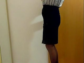Beatrice posing secretary plugged and suck