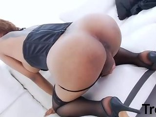 Asian TGirl Anal Fucked By Troc
