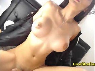 Sexy brunette Chaturbate modelbig tits