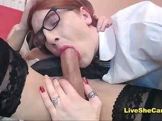 CD couple blowjob webcam