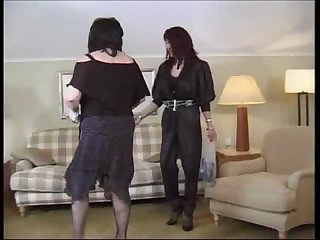 cross dressing to fuck part  of six