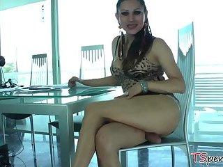 Busty T-girl Selina Malone